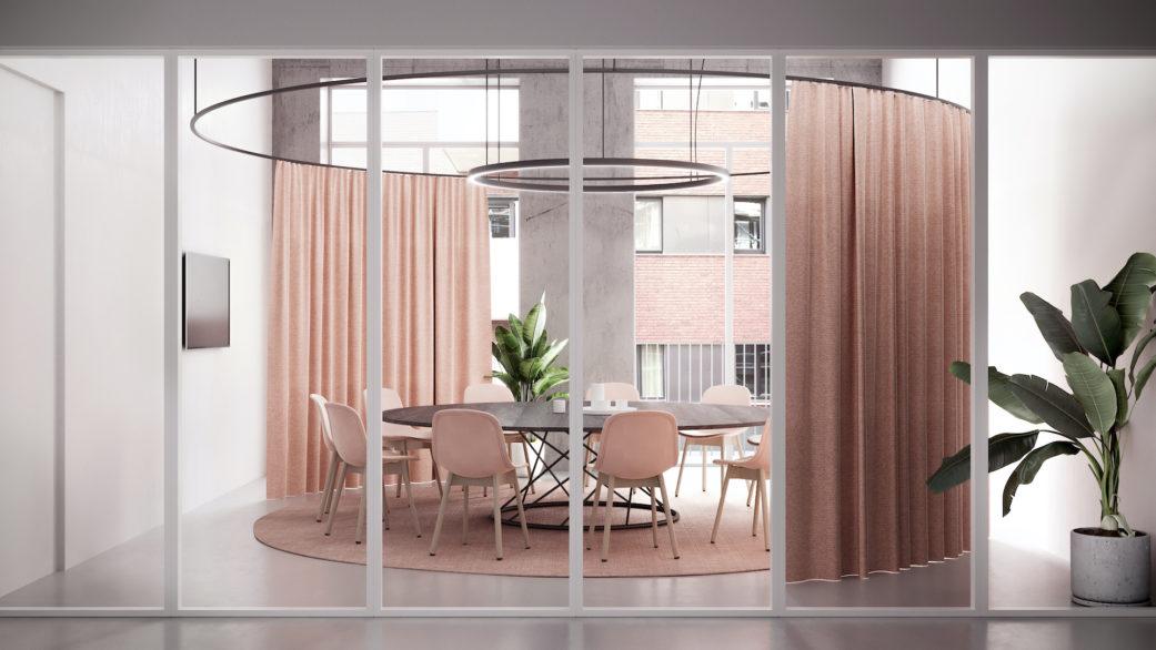 Meeting room 3D rendering