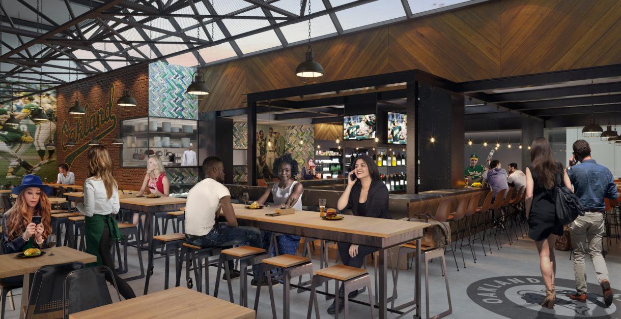 Oakland airport bar visualization