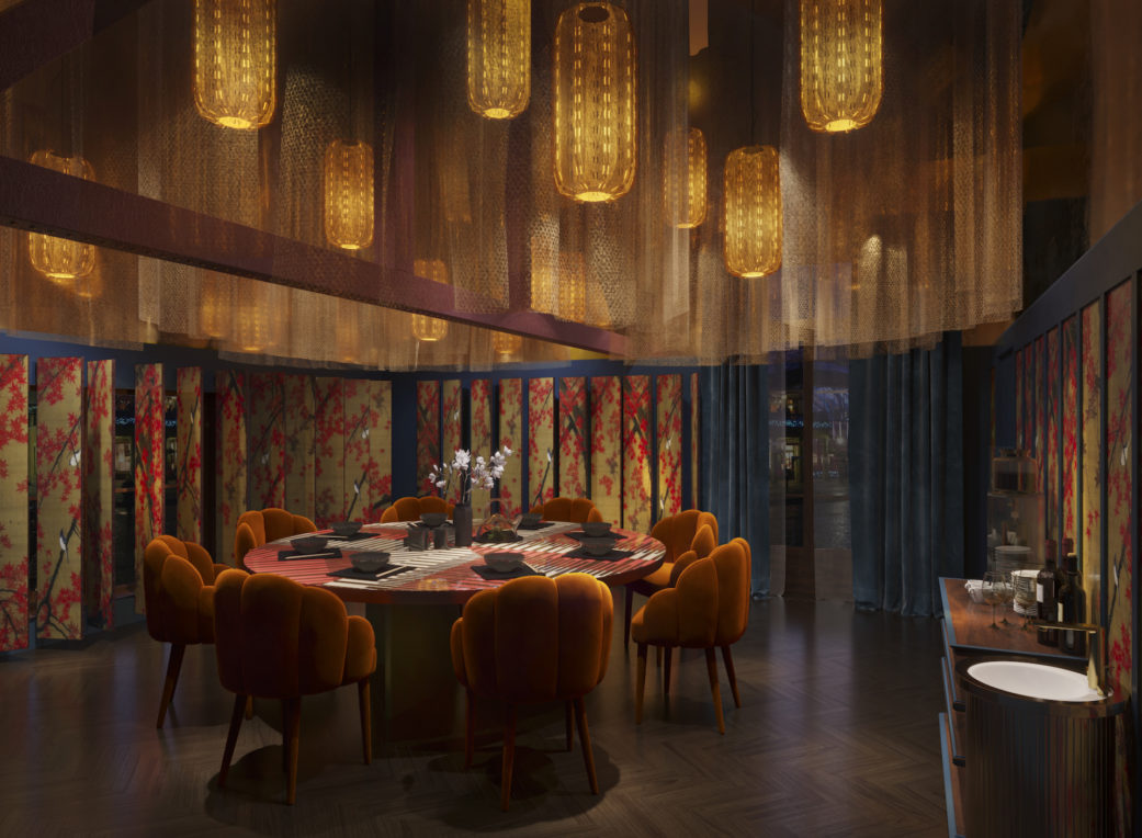 Sushi Samba London private dining room