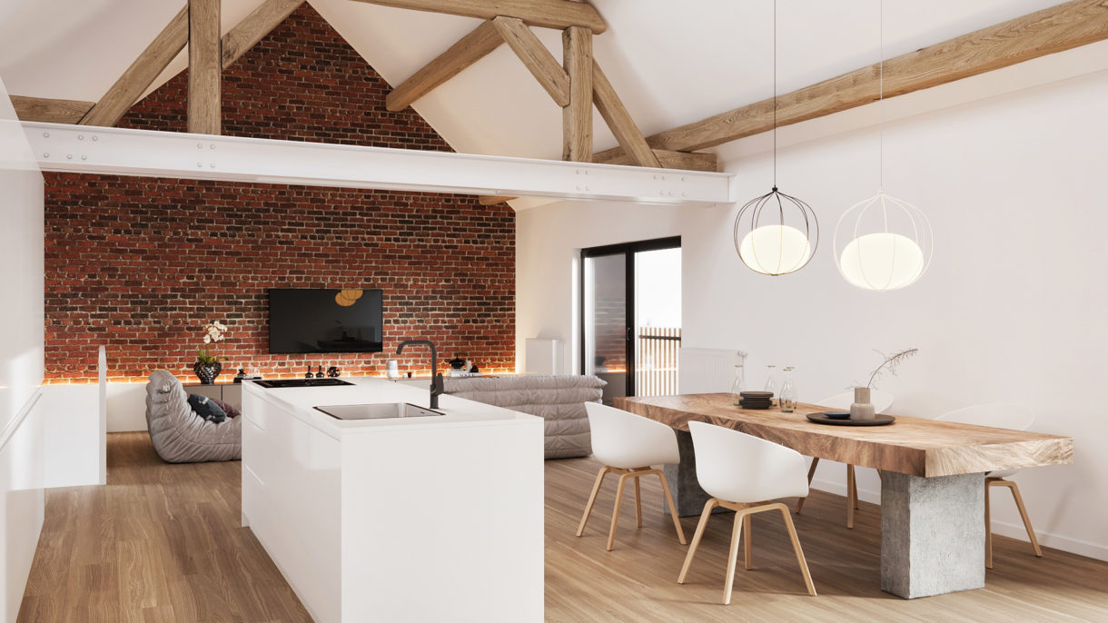 no fuss company architectural 3D rendering services