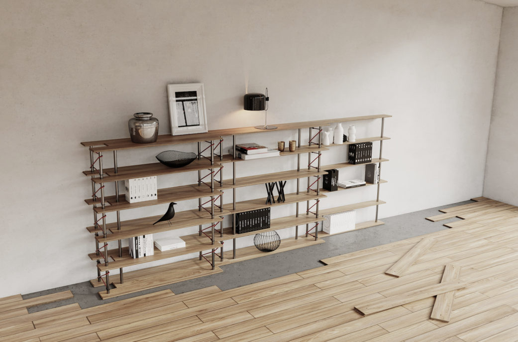 No fuss furniture 3D rendering