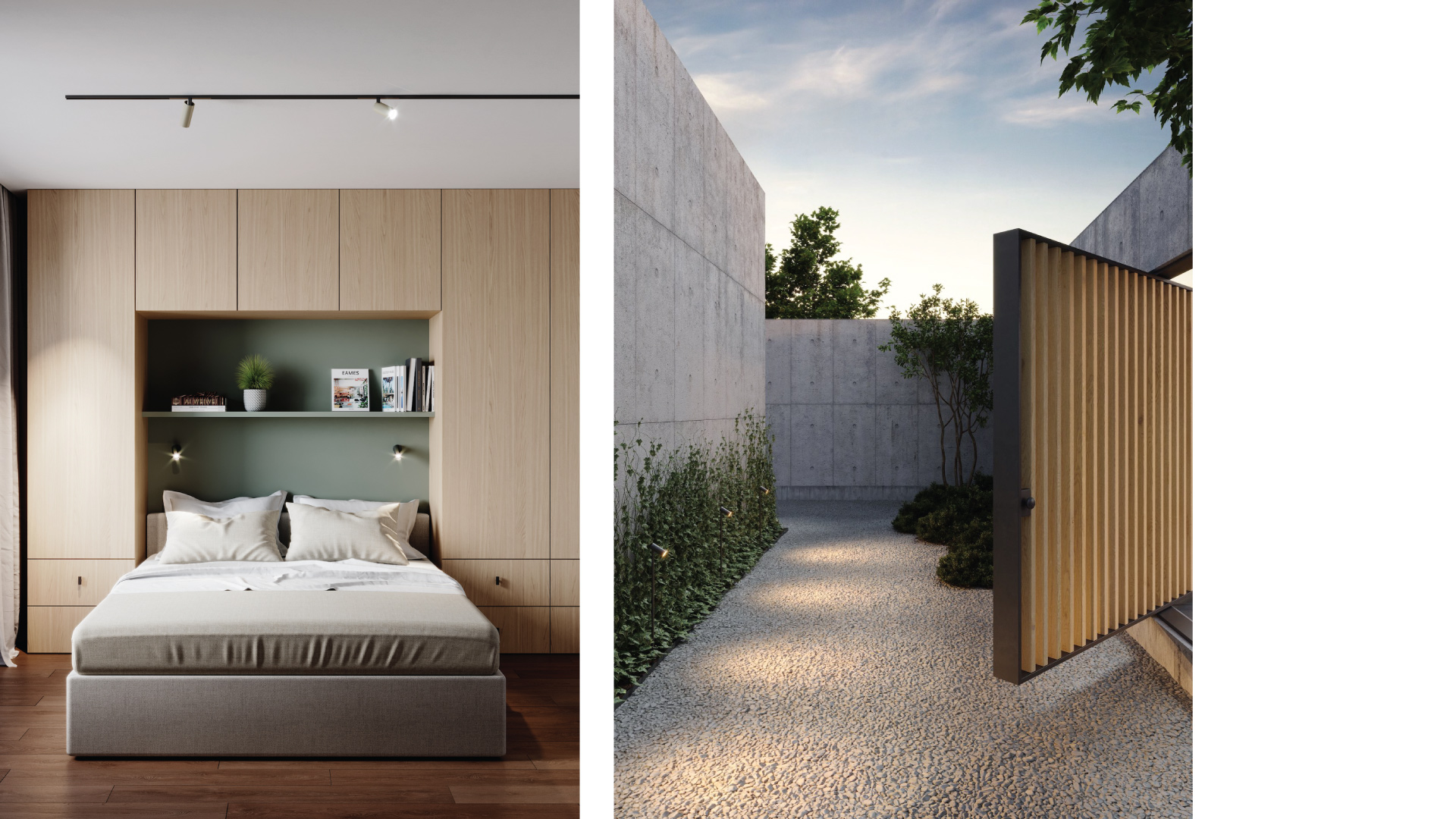 Interior and exterior 3D visualization agency