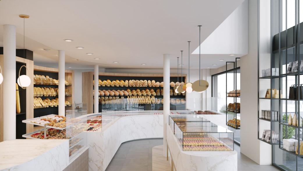 Interior design rendering service