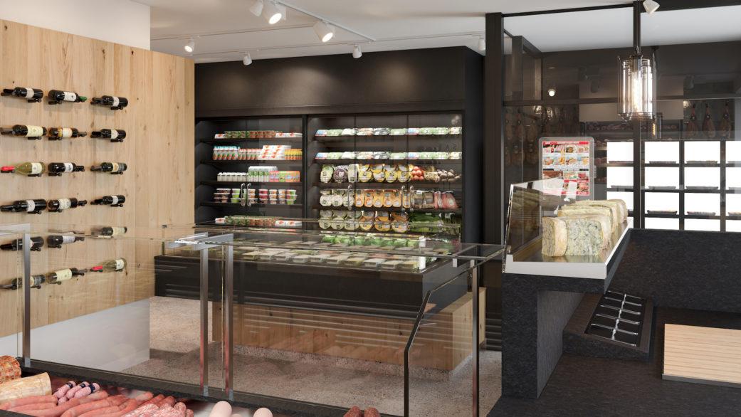 No fuss 3D butcher shop